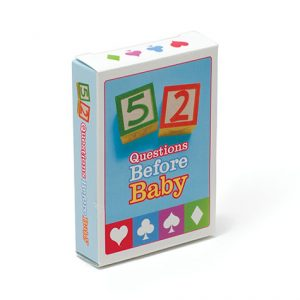 52 Questions Before Baby Card Deck