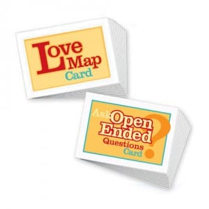 Love Map - Open Ended Questions Cards