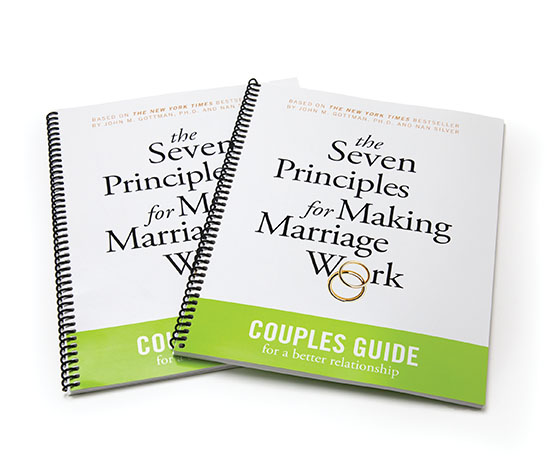 The Seven Principles For Making Marriage Work Couples