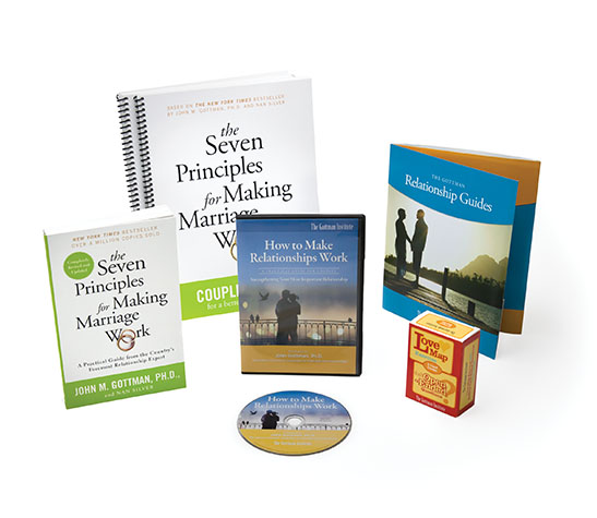 Seven Principles For Making Marriage Work Deluxe Package