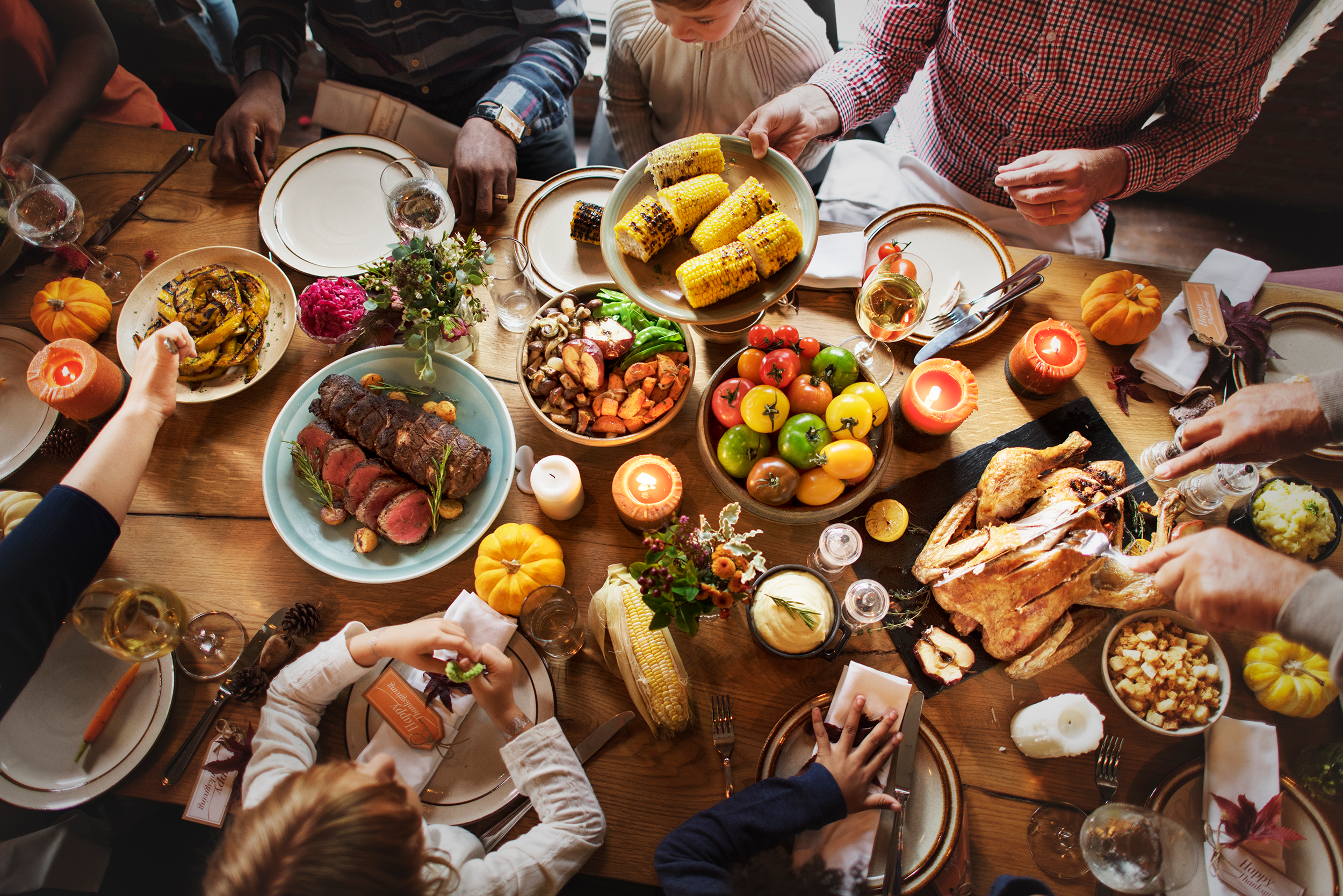Thanksgiving rituals of connection