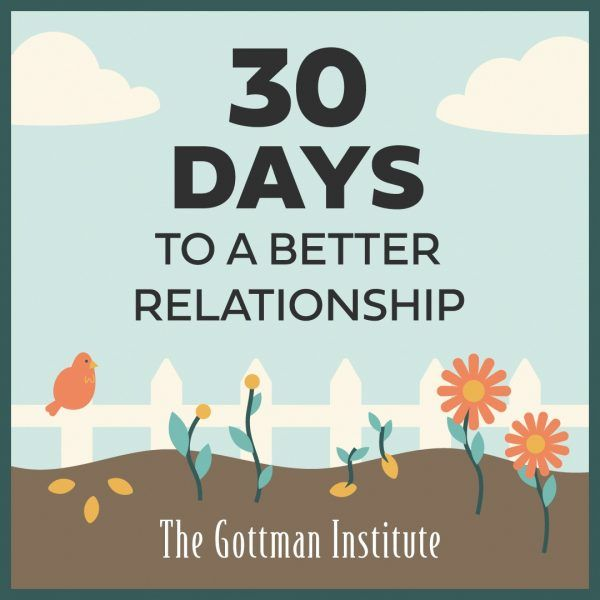 30 days to a better relationship image