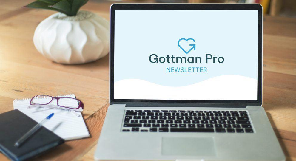 Gottman Pro Newsletter