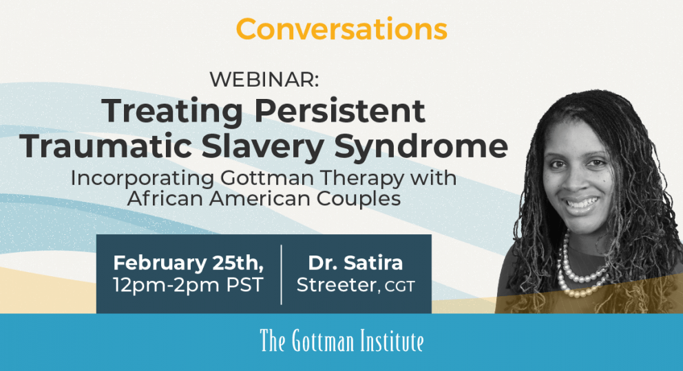 Webinar graphic Treating Persistent Traumatic Slavery Syndrome