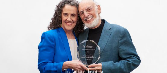 The Gottmans Psychotherapy Networker Award photo